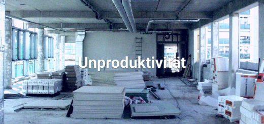 Gestörte Bauabläufe vernichten Produktivität